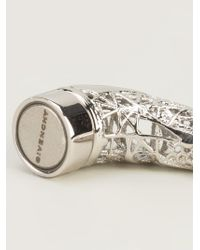 Givenchy   Metallic Magnetic Horn Earring   Lyst
