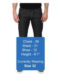 7 For All Mankind - Blue The Straight W/ Split Seam Pocket In Reverie for Men - Lyst