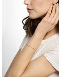 BaubleBar Metallic Pavé Triple Hamsa Bracelet