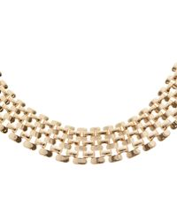 John Lewis - Metallic Chunky Linked Necklace - Lyst