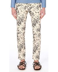 Gucci - White Floral Tapered Trousers for Men - Lyst