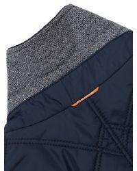 BOSS Blue Boss Orange Padded Blazer for men