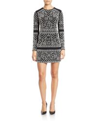 Xscape | Black Beaded Sheath Dress | Lyst