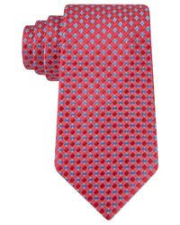Michael Kors | Orange Michael Tuscan Solids Neat Tie for Men | Lyst