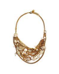 Lulu Frost - Metallic Bord La Mer Necklace - Lyst