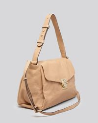 Marc By Marc Jacobs Brown Shoulder Bag Circle in Square
