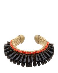 Sveva Collection | Black Audace Bracelet | Lyst