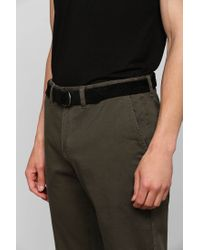 Urban Outfitters - Black Suede D-ring Belt for Men - Lyst