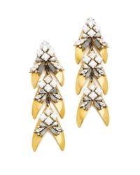Erickson Beamon | Multicolor Jane Earrings | Lyst