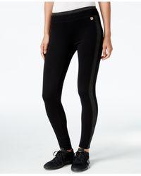 Calvin Klein | Black Performance Control-panel Leggings | Lyst