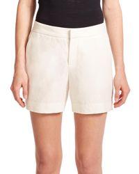 Joie | Natural Catia Linen Shorts | Lyst