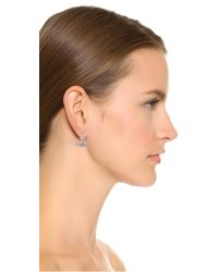 Vivienne Westwood Purple Grace Bas Relief Earrings - Light Amethyst