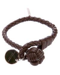 Bottega Veneta | Brown Woven Bracelet for Men | Lyst