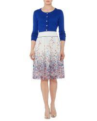 Dickins & Jones Multicolor Heather Floral Print Skirt