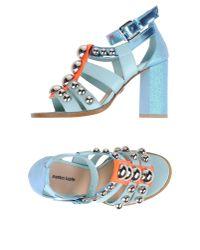 Markus Lupfer - Blue Sandals - Lyst