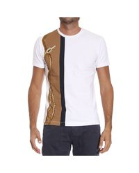 Class Roberto Cavalli White T-shirt for men