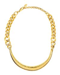 Jose & Maria Barrera | Metallic Hammered Collar Necklace | Lyst