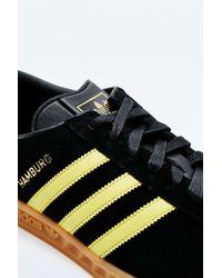 Adidas Originals | Hamburg Black And Yellow Trainers for Men | Lyst