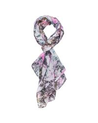 French Connection Multicolor Pool Print Scarf
