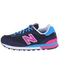 New Balance - Black 515 - Neon Pop - Lyst