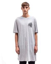 Pam Gray P.A.M Mens Active Oversized Long T-Shirt for men
