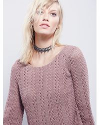 Free People - Pink Emmy Top - Lyst