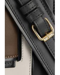 Pierre Hardy - Black Color-Block Leather Clutch - Lyst