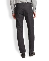 Theory - Gray Haydin Five-Pocket Pants for Men - Lyst