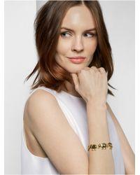 BaubleBar - Metallic Gold Elephant Chain Bracelet - Lyst