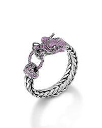 John Hardy | Pink Legends Naga Dragon Head Bracelet | Lyst
