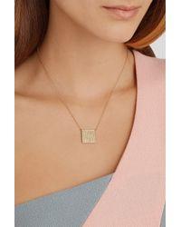Jennifer Meyer - Metallic 18-Karat Gold Diamond Necklace - Lyst