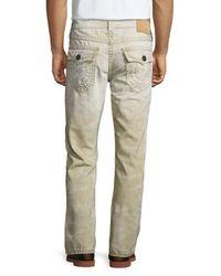 True Religion - Natural Ricky Recycled Slim Denim Jeans for Men - Lyst