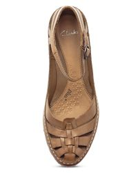 Clarks | Brown Gothic Rebel Cut Out Shoes | Lyst