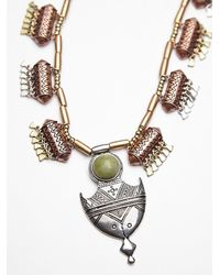 Free People | Green Womens Deco Drop Pendant | Lyst