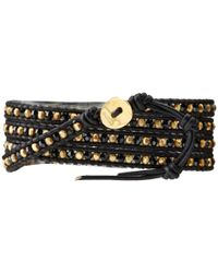 Chan Luu | 32 Jetnatural Black Wrap Bracelet | Lyst