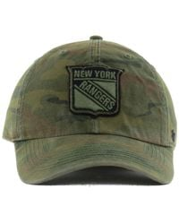 47 Brand Green New York Rangers Movement Cap for men