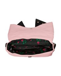 Betsey Johnson | Pink Bow Knot Crossbody | Lyst