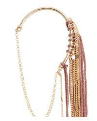 H&M - Metallic Fringed Ear Decorations - Lyst