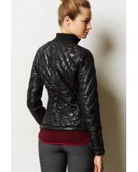 Anthropologie | Black Quilted Puffy Jacket | Lyst
