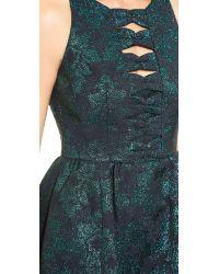 Nanette Lepore Green Masquerade Dress - Emerald