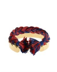 Aurelie Bidermann - Red Copacabana Gold-Plated Bracelet - Lyst