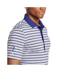 Ralph Lauren | White Striped Polo Shirt for Men | Lyst