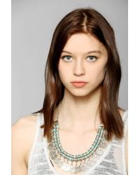 Urban Outfitters - Blue Sogno Bello Coin Necklace - Lyst