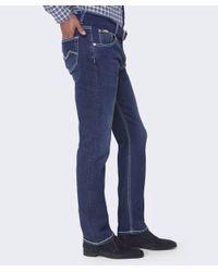 Mancini Blue Regular Fit Colin Jeans for men