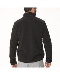 James Perse Gray Yosemite Polar Fleece Zip Up Jacket for men