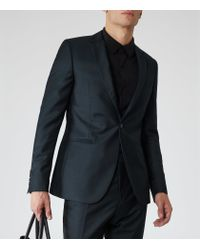 Reiss - Green Menenzies B Slim-fit Blazer for Men - Lyst