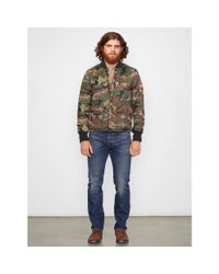 Denim & Supply Ralph Lauren | Green Quilted Camo Liner Jacket for Men | Lyst