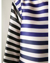 Sofie D'Hoore | White Oversized Striped Blouse | Lyst