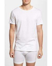 Bread & Boxers | White Crewneck T-shirt for Men | Lyst