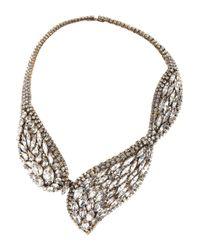 Erickson Beamon Metallic Hello Sweetie Gold-Plated Swarovski Crystal Necklace